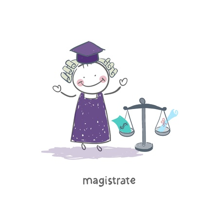 Magistrate Stock Vector - 18244745