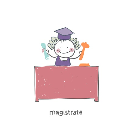 Magistrate Stock Vector - 18244714