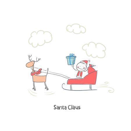 Santa Claus Stock Vector - 18244732