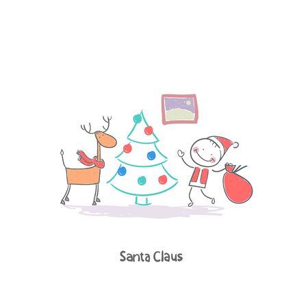 Santa Claus Stock Vector - 18244729