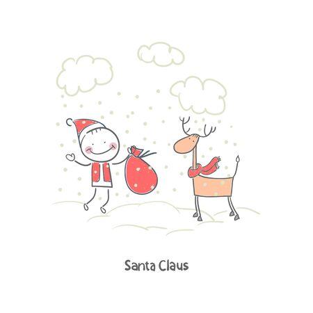 Santa Claus Stock Vector - 18244725