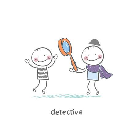 Detective Stock Vector - 18276847