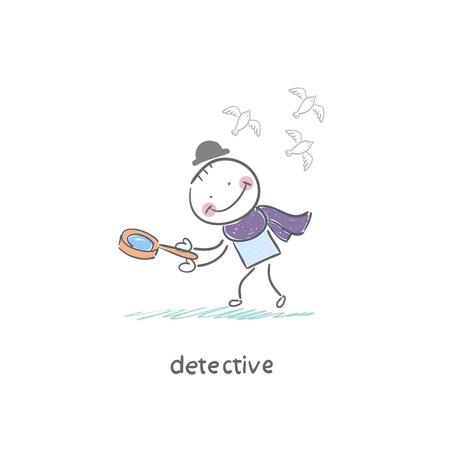Detective Stock Vector - 18276841