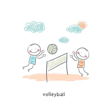 volleyball net: Beach Volleyball