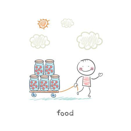 food Stock Vector - 18558023