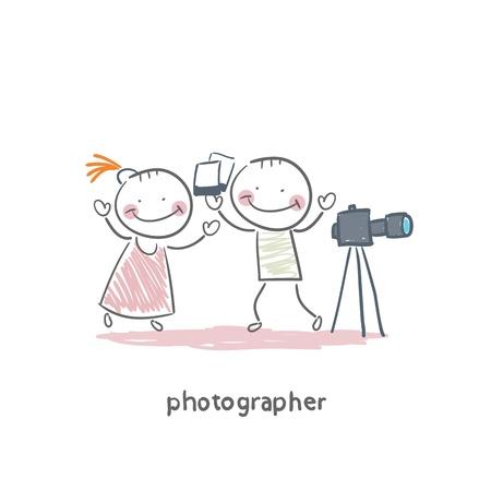 Fotógrafo Foto de archivo - 18557938