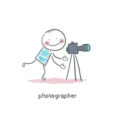 Photographer Иллюстрация