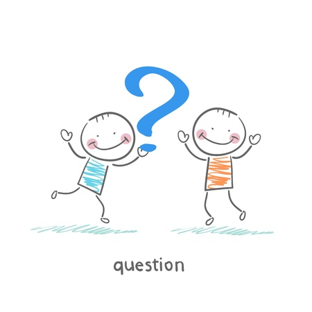 Questions Stock Vector - 18557882