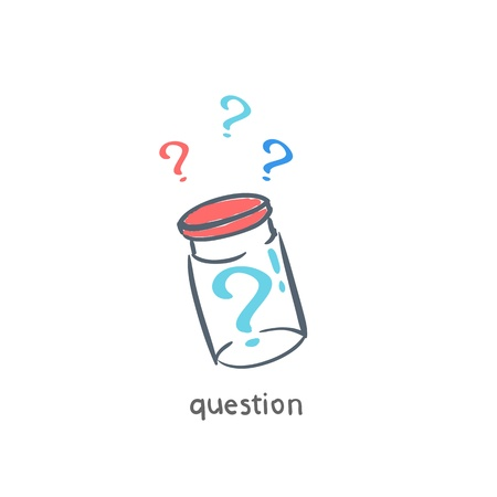 Questions Stock Vector - 18557892