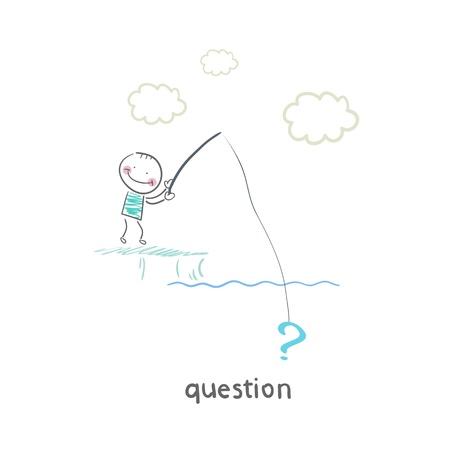 Questions Stock Vector - 18557870