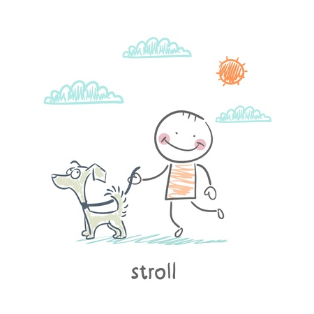 stroll Vector