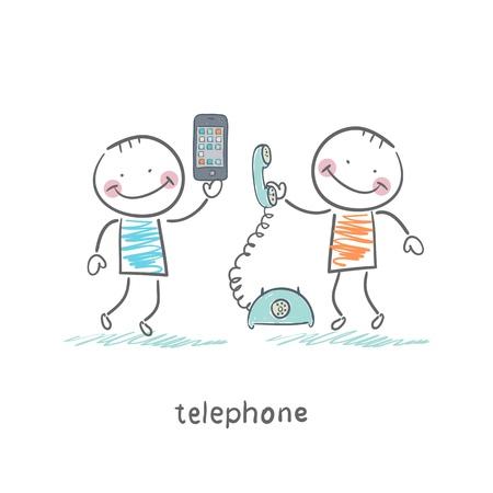 Phones Stock Vector - 18558026