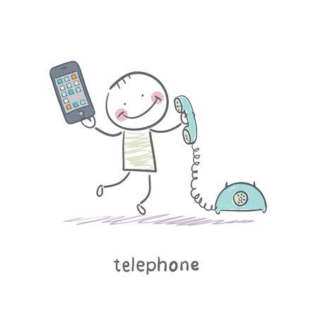 Phones Stock Vector - 18558005