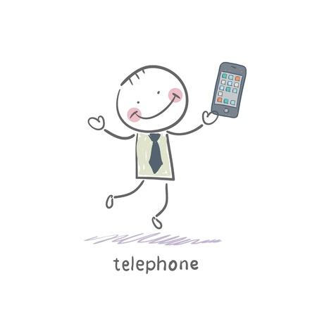 Phones Stock Vector - 18557947