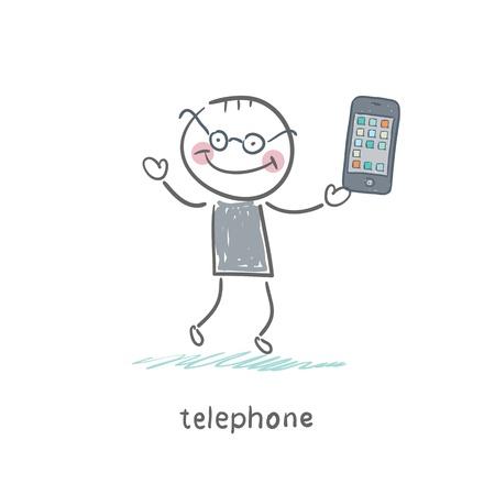 Phones Stock Vector - 18557981