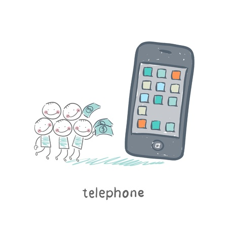 Phones Stock Vector - 18558028