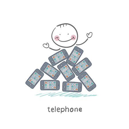 Phones Stock Vector - 18558025