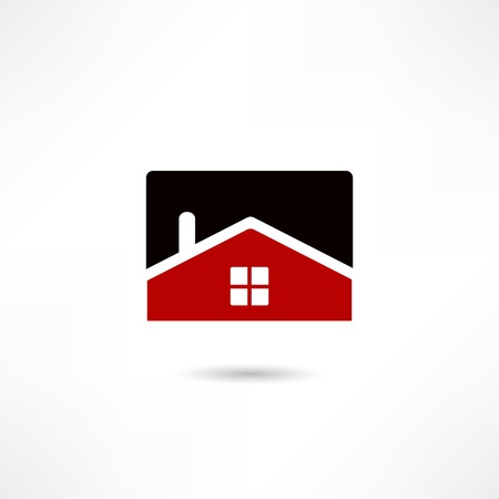 Real estate icon Stock Vector - 18557833