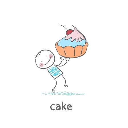 cake Stock Vector - 18694225