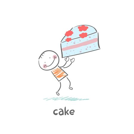 Cake Stock Vector - 18694236