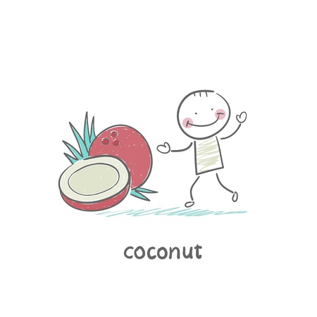 Coconut and people