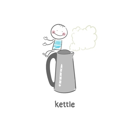 electric kettle Stock Vector - 18694261