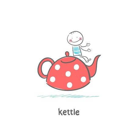 photorealism: Kettle