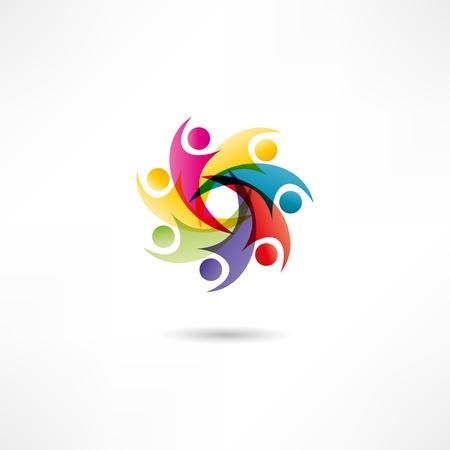 trust icon: Business icon. Transaction. Illustration