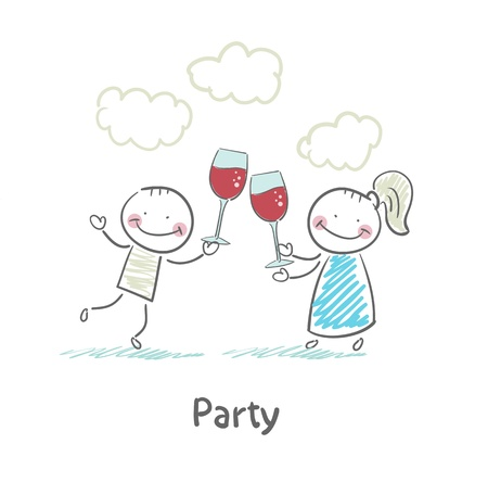 summer holiday: Party