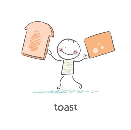 toast Stock Vector - 18694271
