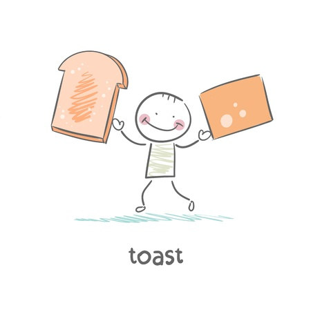 toast Stock Vector - 18694271