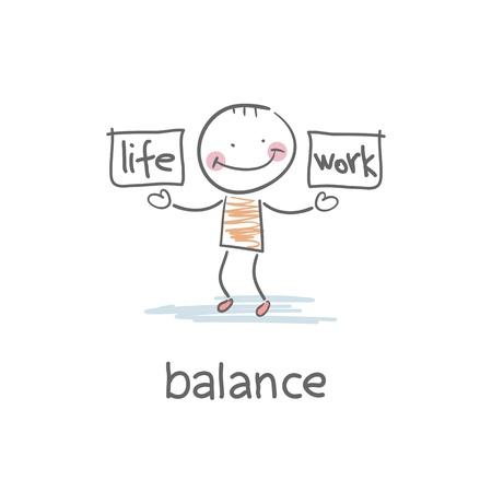 balance life: Work and life