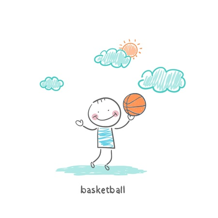 basketball player Stock Photo - 18716869
