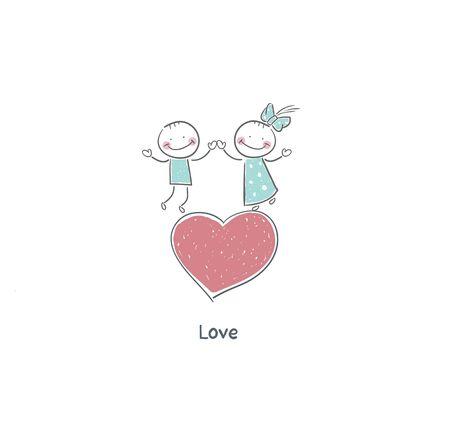 Couple in love Stock Photo - 18716581