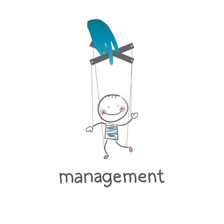 dismissed: Management. Illustration.