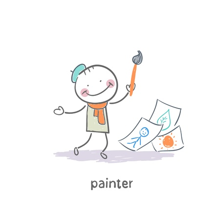 Painter photo