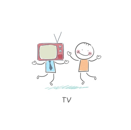 TV - friend. photo