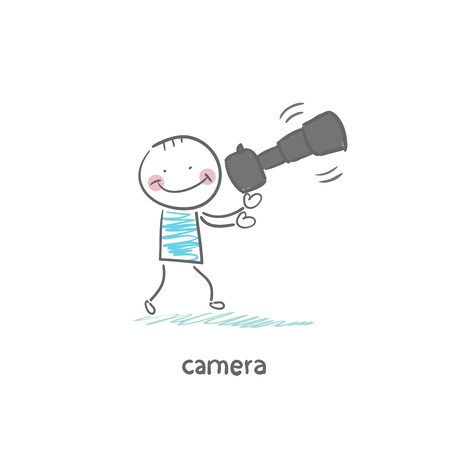 Camera Stock Vector - 18953061
