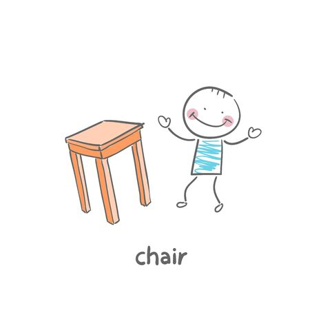 Chair Stock Vector - 18953166