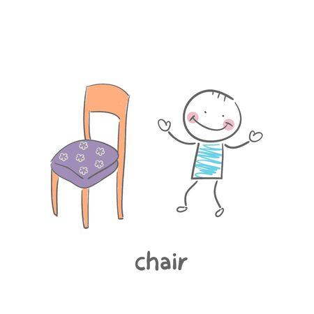 Chair Stock Vector - 18953130