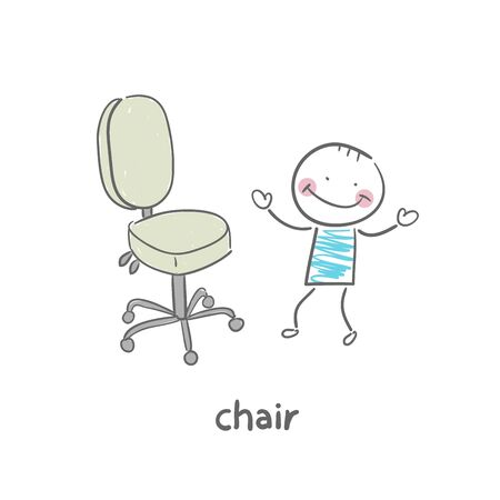 Chair Stock Vector - 18953221