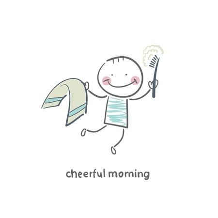 Cheerful morning Stock Vector - 18953064