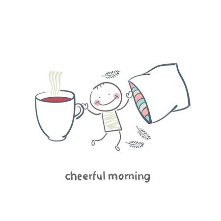 stroll: Cheerful morning