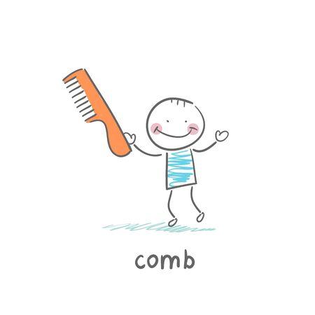 comb: Comb Illustration