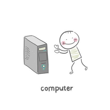 Computer Stock Vector - 18953203
