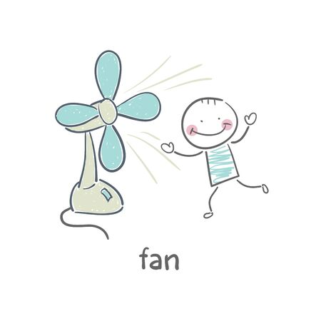 hands in the air: Fan Illustration