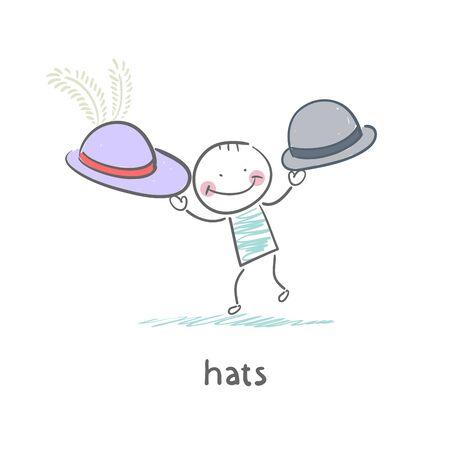 Hats Stock Vector - 18953343