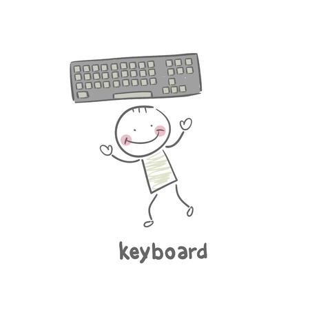 Keyboard Stock Vector - 18953418