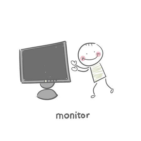 Monitor Stock Vector - 18953331