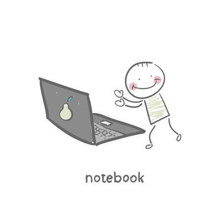 notebook Stock Vector - 18953307